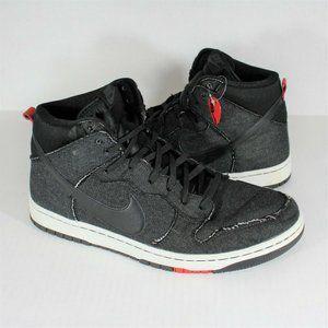 Nike Dunk CMFT Denim Black 705434 001 Mens 12 M613
